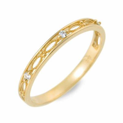 J luxe ゴールド リング 指輪 婚約指輪 結婚指輪 エンゲージリング ダイヤモンド 名入れ 刻印 20代 30代 彼女 レディース 女性 誕生日プレゼント 記念日 ギフトラッピング ジェイリュクス 送料無料