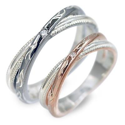 送料無料 white clover シルバー ペアリング 婚約指輪 結婚指輪 エンゲージリング ダイヤモンド 20代 30代 彼女 彼氏 レディース メンズ カップル ペア 誕生日プレゼント 記念日 ギフト ラッピング ホワイトクローバー ブランド 母の日 花以外