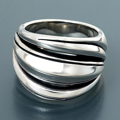 M's collection エムズコレクションシルバー リング 指輪 ホワイト 彼氏 メンズ 父の日EHI9D2
