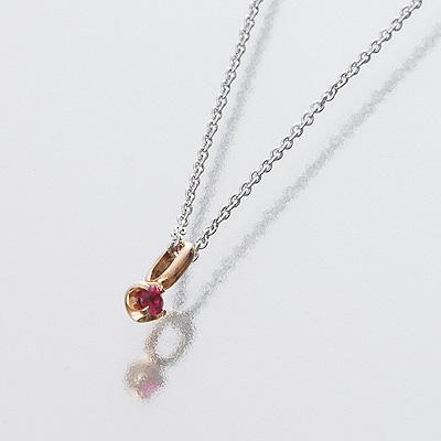邦妮 /Anne 邦尼 / 妇女 / 玫瑰金 / 项链 / 红宝石 / 受欢迎