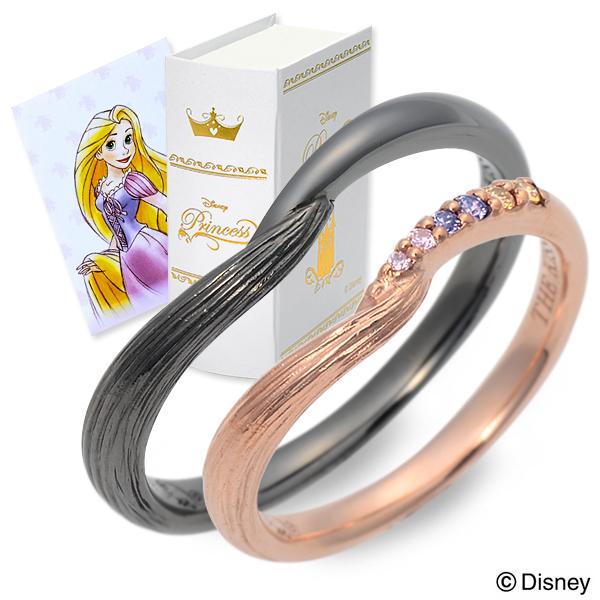 ディズニー Disney THE KISS ザ・キッス ペアリング キュービック ブラック 20代 30代 人気 disney zone ブランド 母の日
