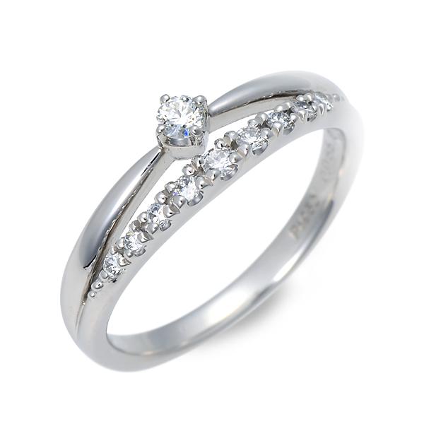 WISP ウィスプ プラチナ リング 指輪 ダイヤモンド ホワイト 20代 30代 彼女 レディース 母の日
