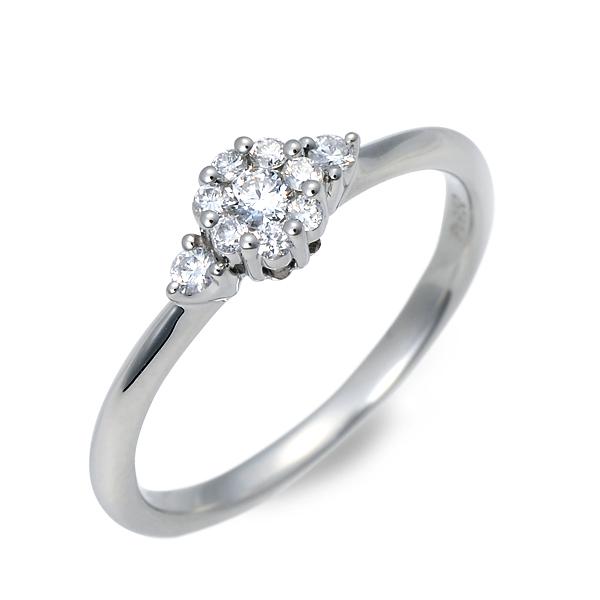 WISP ウィスプ プラチナ リング 指輪 ダイヤモンド ホワイト 20代 30代 彼女 レディース 母の日 花以外