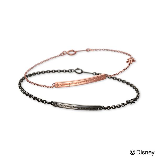ディズニー Disney THE KISS ザ・キッス ペアブレスレット ダイヤモンド ブラック 20代 30代 人気 ブランド disney zone