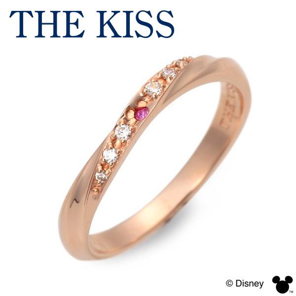 THE KISS Disney シルバー リング 指輪 婚約指輪 結婚指輪 エンゲージリング 20代 30代 彼女 レディース 女性 誕生日プレゼント 記念日 ギフトラッピング ザキッス ザキス ザ・キッス ディズニー Disneyzone 送料無料 母の日