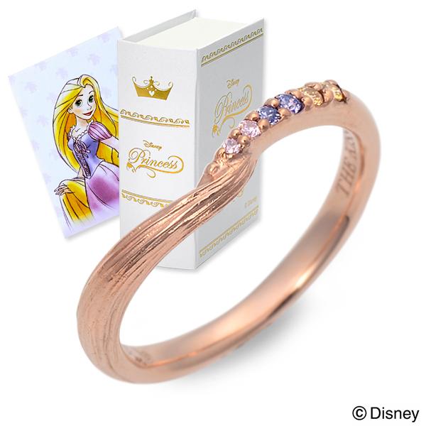 THE KISS Disney シルバー リング 指輪 婚約指輪 結婚指輪 エンゲージリング 20代 30代 彼女 レディース 女性 誕生日プレゼント 記念日 ギフトラッピング ザキッス ザキス ザ・キッス ディズニー Disneyzone ラプンツェル プリンセス 送料無料