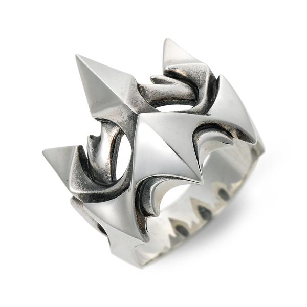 D.four ディーフォー シルバー リング 指輪 グレー 20代 30代 彼氏 メンズ 人気 ブランド