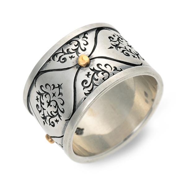 MOCHA モカ シルバー リング 指輪 グレー 20代 30代 彼氏 メンズ 人気 ブランド