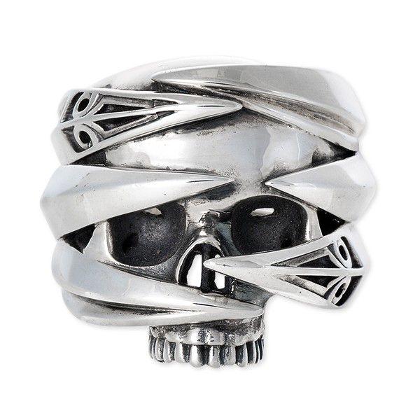 M's collection エムズコレクション シルバー リング 指輪 キュービック グレー 20代 30代 彼氏 メンズ