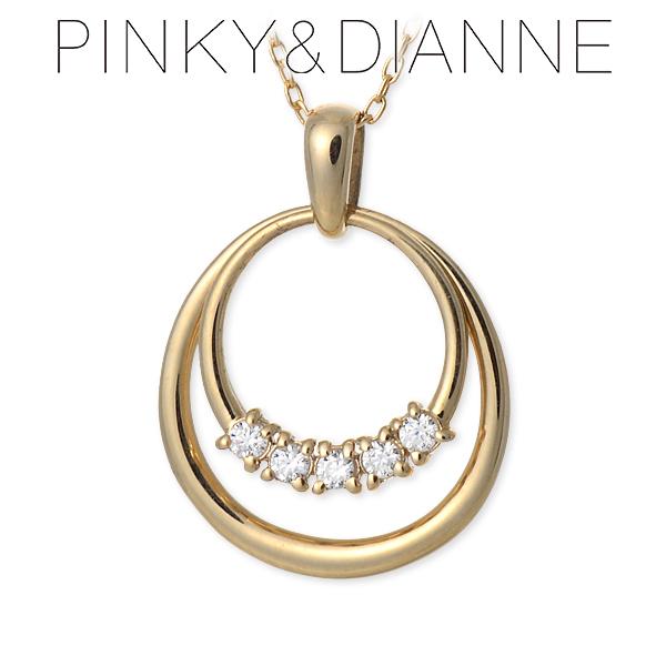 Pinky&Dianne ピンキーアンドダイアン ネックレス キュービック イエロー 20代 30代 彼女 レディース 母の日