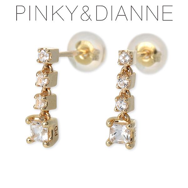 Pinky&Dianne ピンキーアンドダイアン ピアス トパーズ イエロー 彼女 レディースクリスマス 12月