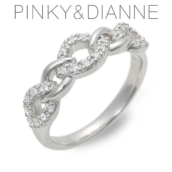 Pinky&Dianne ピンキーアンドダイアン シルバー リング 指輪 キュービック ホワイト 20代 30代 彼女 レディース 母の日