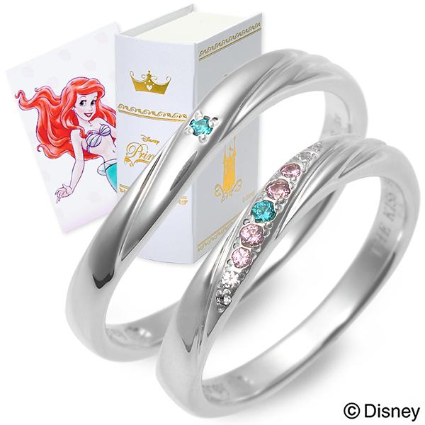 THE KISS Disney シルバー ペアリング 婚約指輪 結婚指輪 エンゲージリング 20代 30代 彼女 彼氏 レディース メンズ カップル ペア 誕生日プレゼント 記念日 ギフトラッピング ザキッス ザキス ザ・キッス ディズニー Disneyzone 送料無料 ブランド