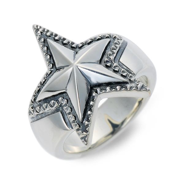 SAINTS Design セインツ シルバー リング 指輪 ホワイト 20代 30代 彼氏 メンズ