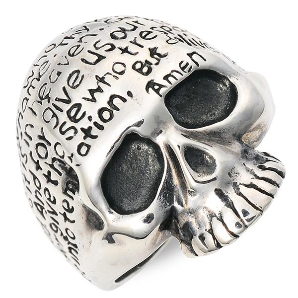 SAINTS Design セインツ シルバー リング 指輪 ブラック 彼氏 メンズ