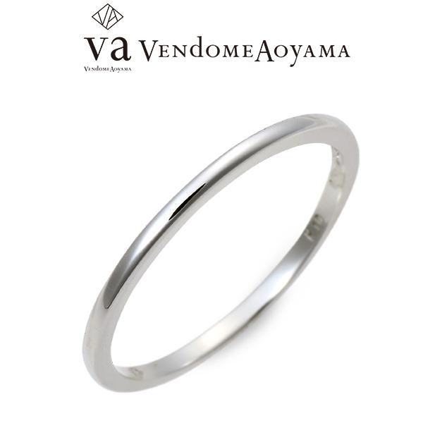 送料無料 VA Vendome Aoyama ホワイトゴールド リング 指輪 婚約指輪 結婚指輪 エンゲージリング 20代 30代 彼氏 メンズ 誕生日プレゼント 記念日 ギフトラッピング ヴイエーヴァンドームアオヤマ
