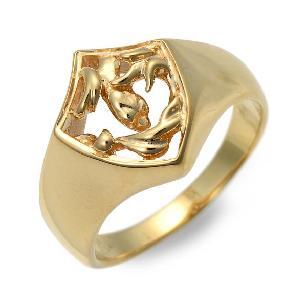 GIGOR ジゴロウ リング 指輪 イエロー 20代 30代 彼氏 メンズ 人気 ブランド