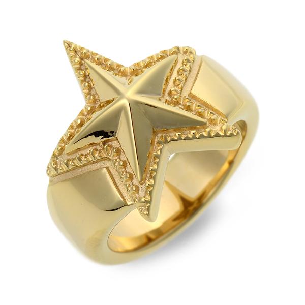 SAINTS Design セインツ シルバー リング 指輪 イエロー 20代 30代 彼氏 メンズ