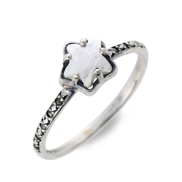 CHAN LUU チャンルー シルバー リング 指輪 ムーンストーン ホワイト 20代 30代 彼女 レディース 母の日