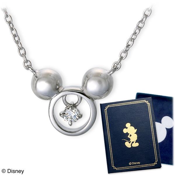送料無料 WISP(Disney) Disney ホワイトゴールド ネックレス ダイヤモンド 彼女 レディース 女性 誕生日プレゼント 記念日 ギフトラッピング ウィスプ ディズニー Disneyzone 母の日 2020