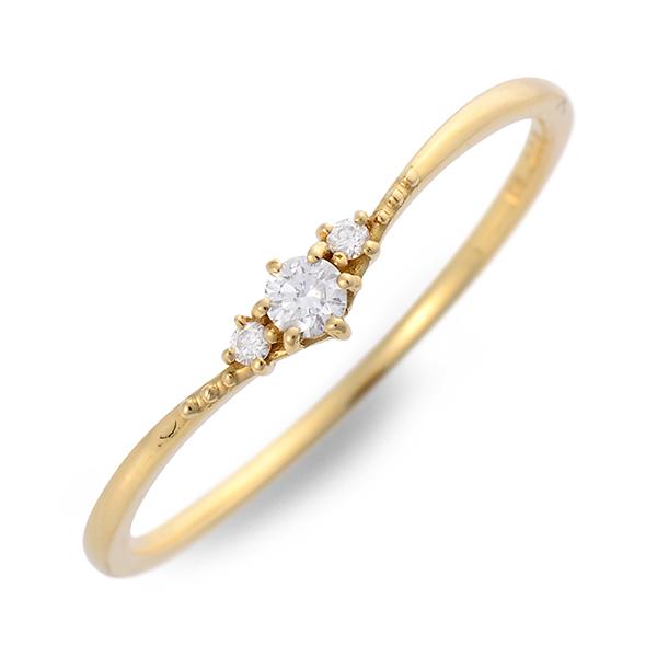 送料無料 VA Vendome Aoyama ゴールド リング 指輪 婚約指輪 結婚指輪 エンゲージリング ダイヤモンド 20代 30代 彼女 レディース 女性 誕生日プレゼント 記念日 ギフトラッピング ヴイエーヴァンドームアオヤマ 母の日