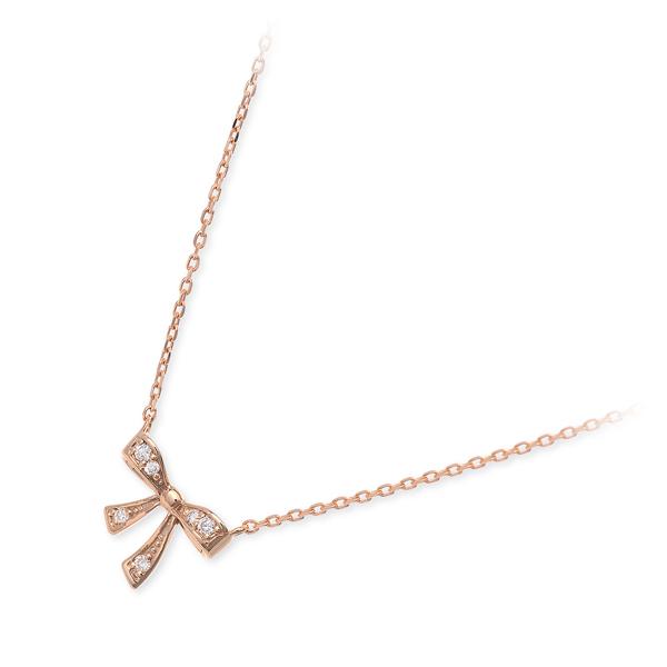 送料無料 VA Vendome Aoyama ピンクゴールド ネックレス ダイヤモンド 20代 30代 彼女 レディース 女性 誕生日プレゼント 記念日 ギフトラッピング ヴイエーヴァンドームアオヤマ 母の日