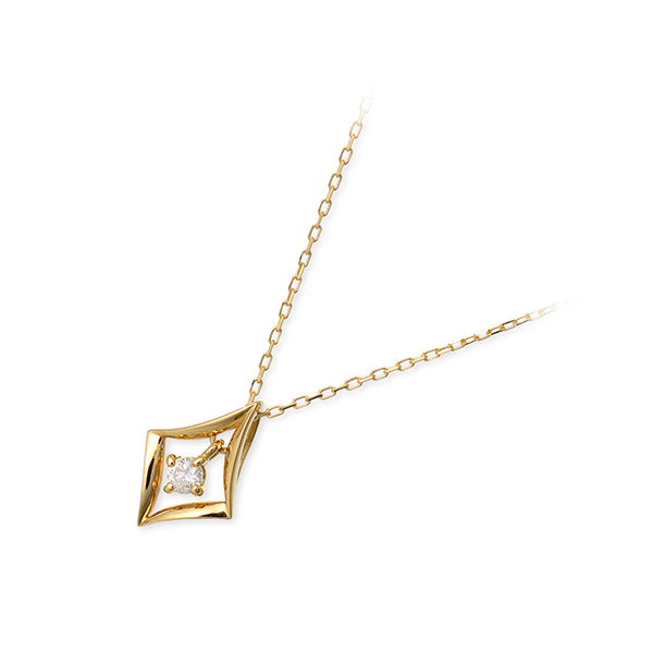 Pinky&Dianne ゴールド ネックレス シンプル ダイヤモンド 彼女 レディース 女性 誕生日プレゼント 記念日 ギフトラッピング ピンキーアンドダイアン 送料無料 母の日 2020