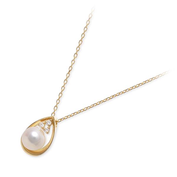 送料無料 WISP ゴールド ネックレス シンプル ダイヤモンド 彼女 レディース 女性 誕生日プレゼント 記念日 ギフトラッピング ウィスプ
