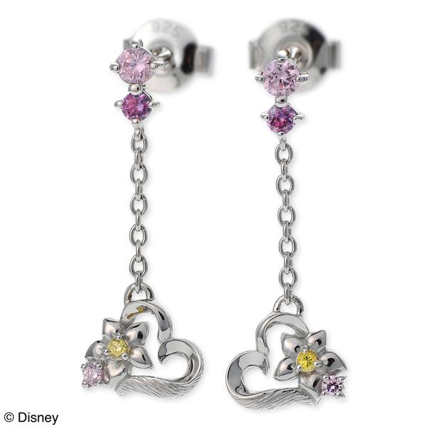 Disney Disney シルバー ピアス ハート 彼女 レディース 女性 誕生日プレゼント 記念日 ギフトラッピング ディズニー Disneyzone 送料無料