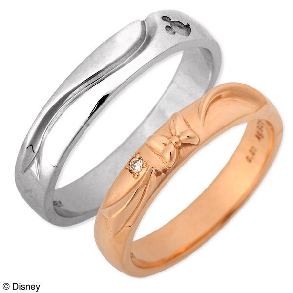 Disney Disney シルバー ペアリング 婚約指輪 結婚指輪 エンゲージリング ダイヤモンド 20代 30代 彼女 彼氏 レディース メンズ カップル ペア 誕生日プレゼント 記念日 ギフト ラッピング ディズニー Disneyzone 送料無料 母の日 花以外