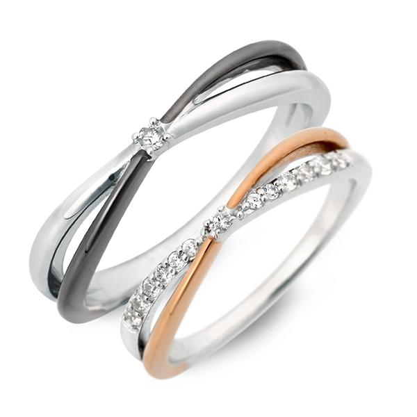 LOVERS SCENE シルバー ペアリング 婚約指輪 結婚指輪 エンゲージリング 20代 30代 彼女 彼氏 レディース メンズ カップル ペア 誕生日プレゼント 記念日 ギフトラッピング ラバーズシーン 送料無料 ブランド 母の日