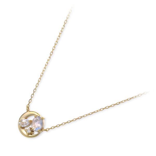 VA Vendome Aoyama ゴールド ネックレス ダイヤモンド 20代 30代 彼女 レディース 女性 誕生日プレゼント 記念日 ギフトラッピング ヴイエーヴァンドームアオヤマ 送料無料
