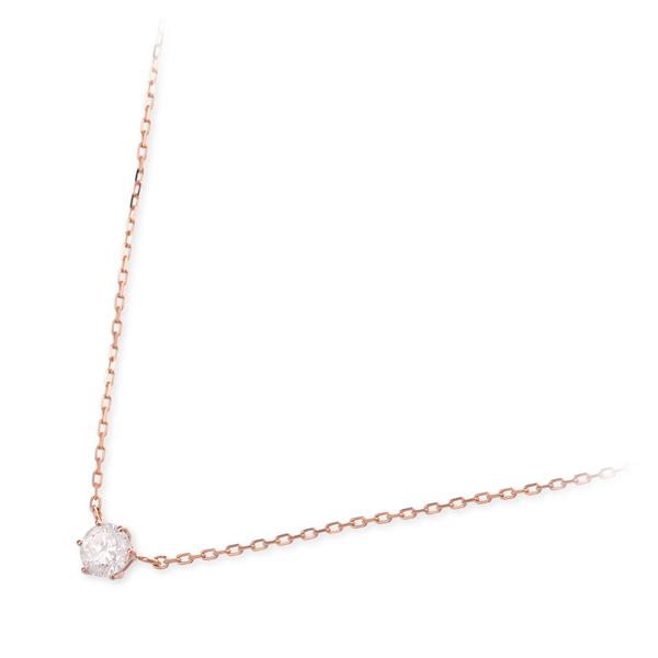 VA Vendome Aoyama ピンクゴールド ネックレス ダイヤモンド 一粒 20代 30代 彼女 レディース 女性 誕生日プレゼント 記念日 ギフト ラッピング ヴイエーヴァンドームアオヤマ 送料無料 母の日 花以外