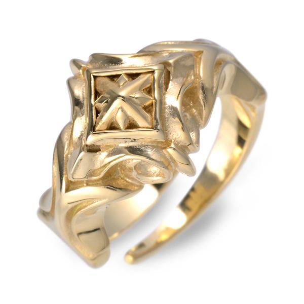 M's collection ゴールド リング 指輪 婚約指輪 結婚指輪 エンゲージリング 20代 30代 彼氏 メンズ 誕生日プレゼント 記念日 ギフトラッピング エムズコレクション 送料無料