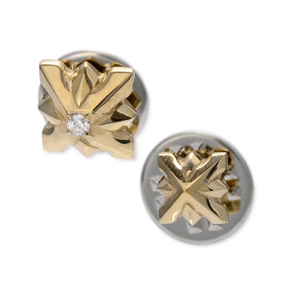 M's collection ゴールド ダイヤモンド 20代 30代 彼氏 メンズ 誕生日プレゼント 記念日 ギフトラッピング エムズコレクション 送料無料
