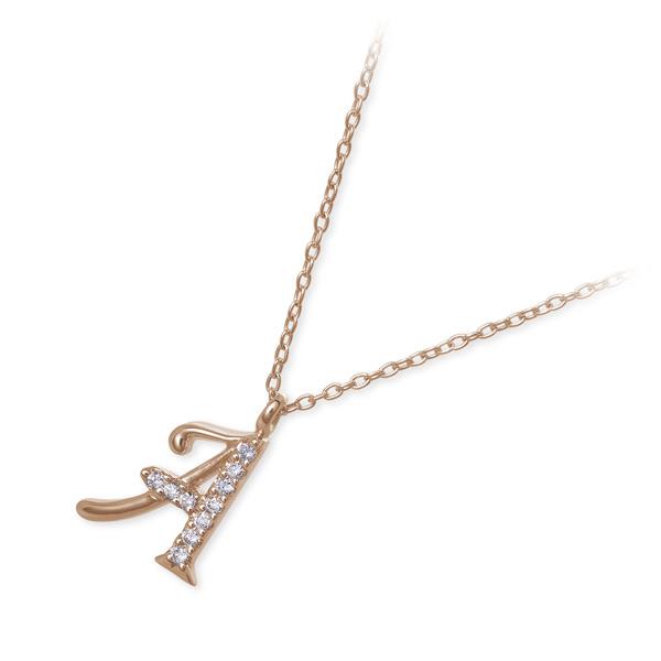 Sweet 10 Diamond ピンクゴールド ネックレス ダイヤモンド 20代 30代 彼女 レディース 女性 誕生日プレゼント 記念日 ギフトラッピング