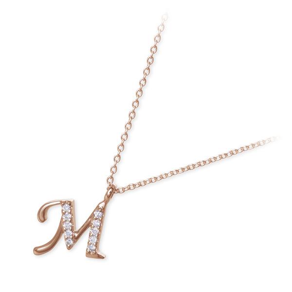 Sweet 10 Diamond ピンクゴールド ネックレス ダイヤモンド 彼女 レディース 女性 誕生日プレゼント 記念日 ギフトラッピング