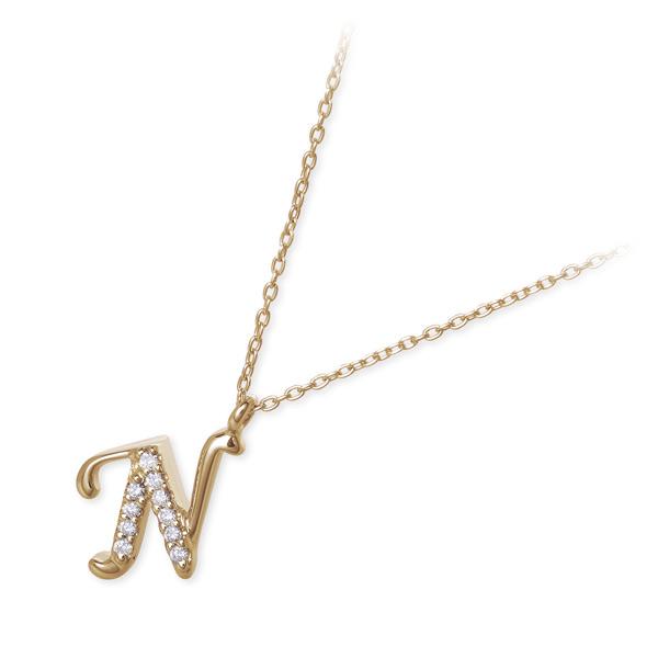 ダイヤモンド ネックレス シンプル Sweet 10 Diamond ゴールド  彼女 レディース 女性 誕生日プレゼント 記念日 ギフトラッピング  送料無料