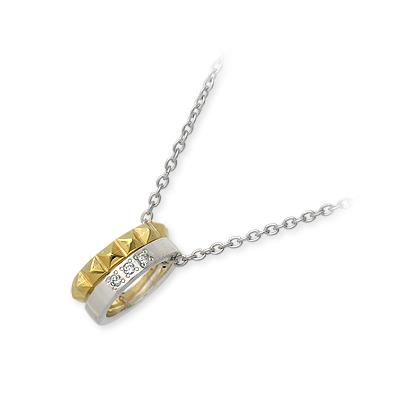 ダイヤモンド ネックレス シンプル JAM HOME MADE シルバー  彼女 レディース 女性 誕生日プレゼント 記念日 ギフトラッピング ジャムホームメイド 送料無料 母の日 2020