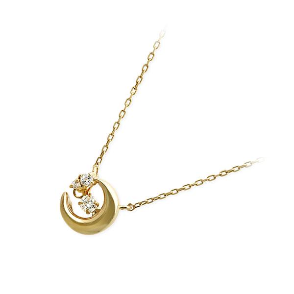 Pinky&Dianne ゴールド ネックレス シンプル ダイヤモンド 20代 30代 彼女 レディース 女性 誕生日プレゼント 記念日 ギフトラッピング ピンキーアンドダイアン 送料無料 母の日 2020