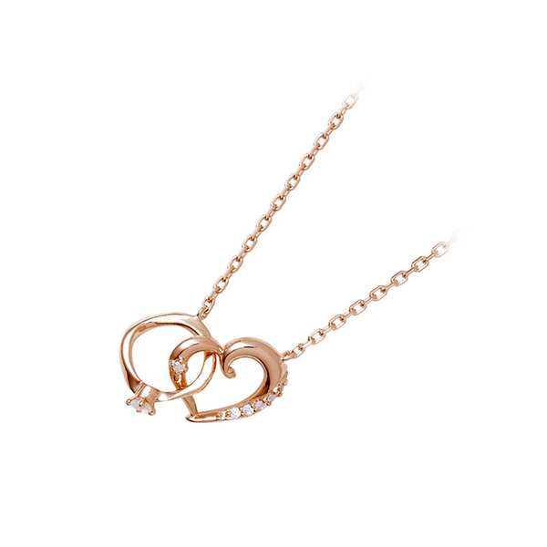 THE KISS シルバー ネックレス シンプル ダイヤモンド 20代 30代 彼女 レディース 女性 誕生日プレゼント 記念日 ギフトラッピング ザキッス ザキス ザ・キッス 送料無料 母の日 2020