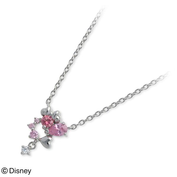 Disney Disney シルバー ネックレス ハート 20代 30代 彼女 レディース 女性 誕生日プレゼント 記念日 ギフトラッピング ディズニー Disneyzone 送料無料 母の日 2020