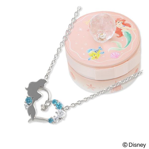 ダイヤモンド ネックレス Disney Disney シルバー  20代 30代 彼女 レディース 女性 誕生日プレゼント 記念日 ギフトラッピング ディズニー Disneyzone 送料無料 母の日 2020