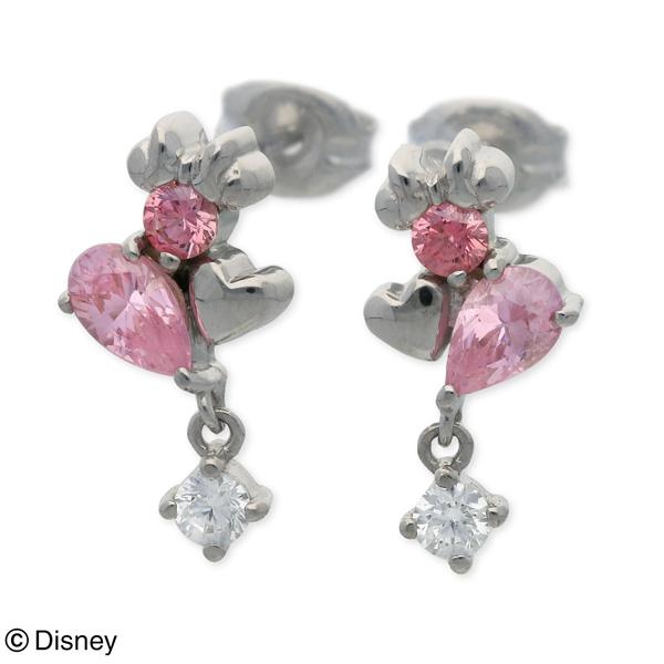 Disney Disney シルバー ピアス ハート 20代 30代 彼女 レディース 女性 誕生日プレゼント 記念日 ギフトラッピング ディズニー Disneyzone 送料無料