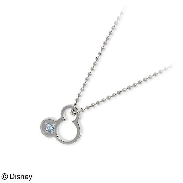 Disney Disney ホワイトゴールド ネックレス 誕生石 選べる 20代 30代 彼女 レディース 女性 誕生日プレゼント 記念日 ギフトラッピング ディズニー Disneyzone 送料無料 母の日 2020