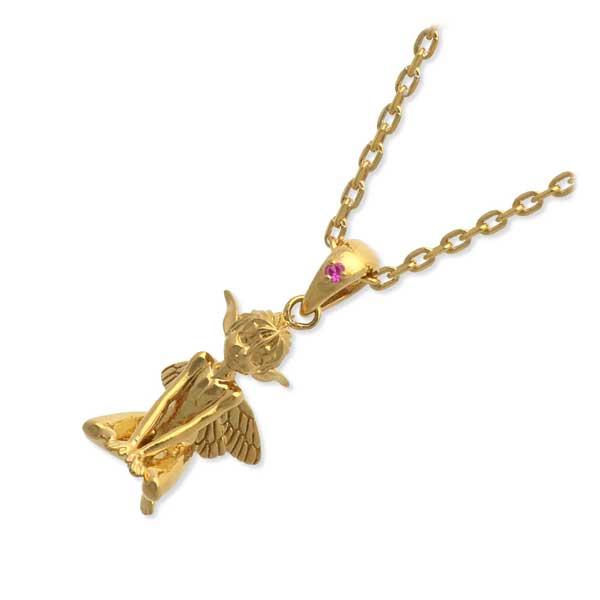SAINTS ベルセルク 妖精パックゴールドネックレス レディース 誕生日プレゼント 記念日 ギフトラッピング セインツ 送料無料