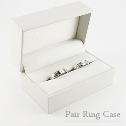 jwli Rakuten Global Market Put the wedding ring pair case white