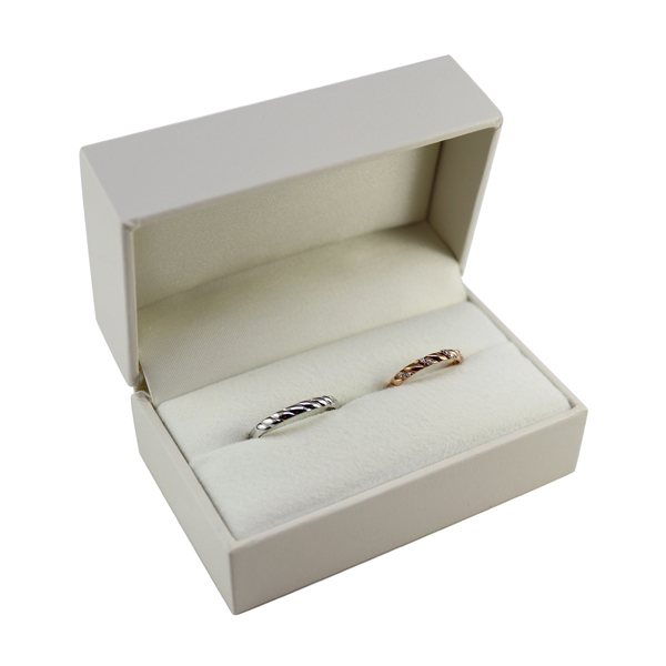 Put The Wedding Ring Pair Case White Boxes Jewelry Case Simple Classic Wedding Rings Case Gift Box With Gift Classy Gifts