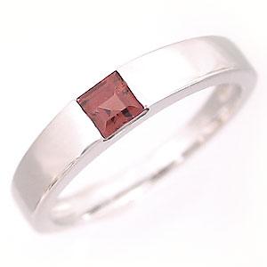 ガーネットリング プラチナ カラーストーンリング ピンキーリング 1月誕生石 Pt900 指輪 ファランジリング ミディリング 新生活 在宅 ファッション