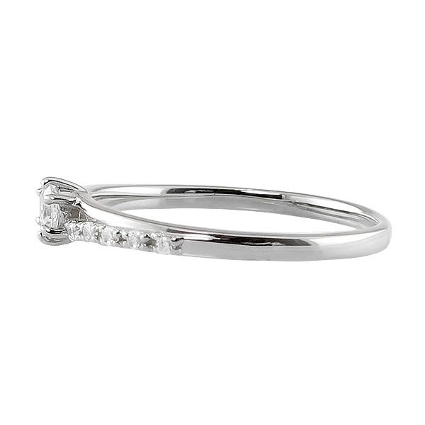 ダイヤモンドリング プラチナ 指輪 レディース Pt900 デザインリング ファッションリング プラチナ ピンキーリング 婚約指m0nwO8vN